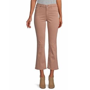 AG Jodi High Rise Kick Flare Blush Pink Jeans